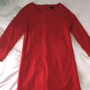 NWOT✨JCrew red shift dress with pockets✨